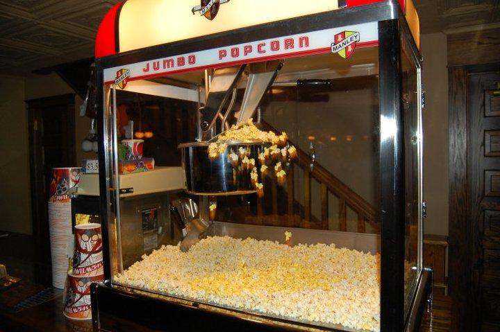 manley popcorn machine
